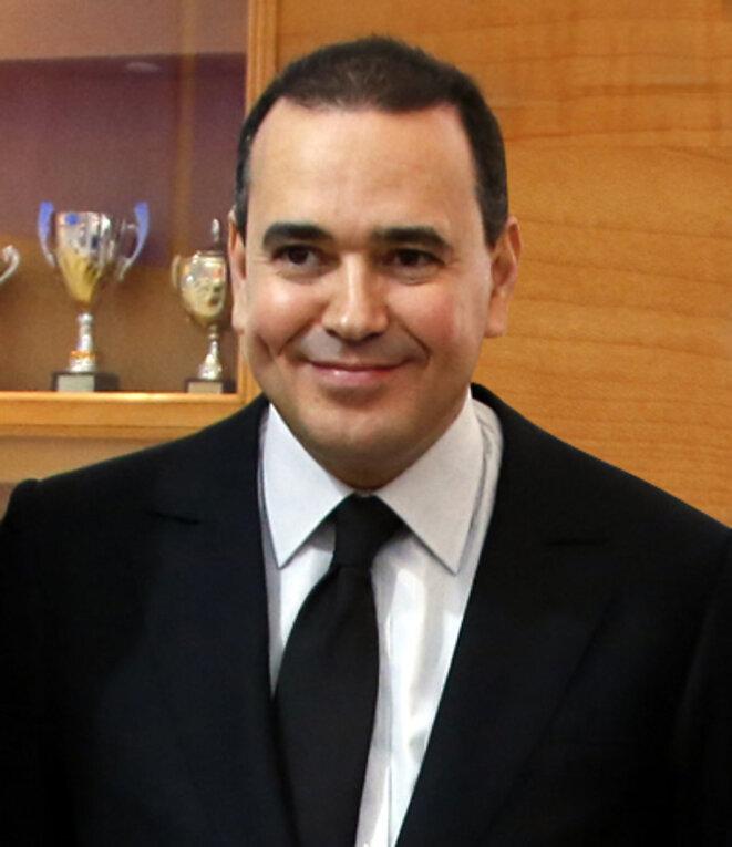 Mounir Majidi, le Secrétaire particulier du Roi Mohammed VI © FDaburon