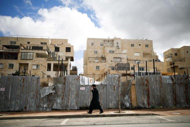 Dans la colonie de Beitar Illit, en février 2017 © Reuters