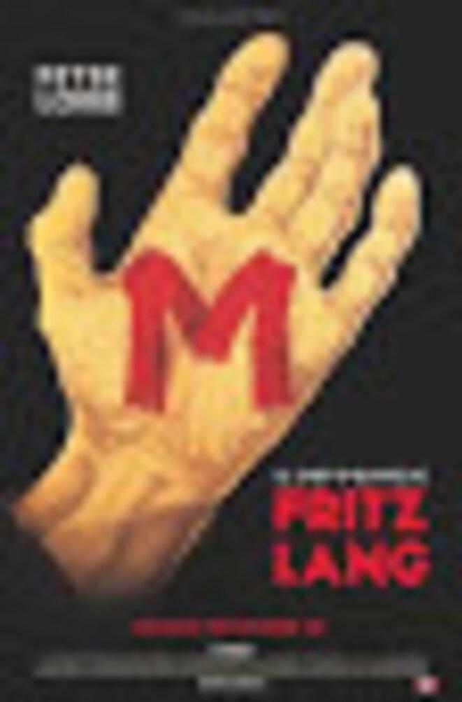 Affiche de M le Maudit © Fritz lang