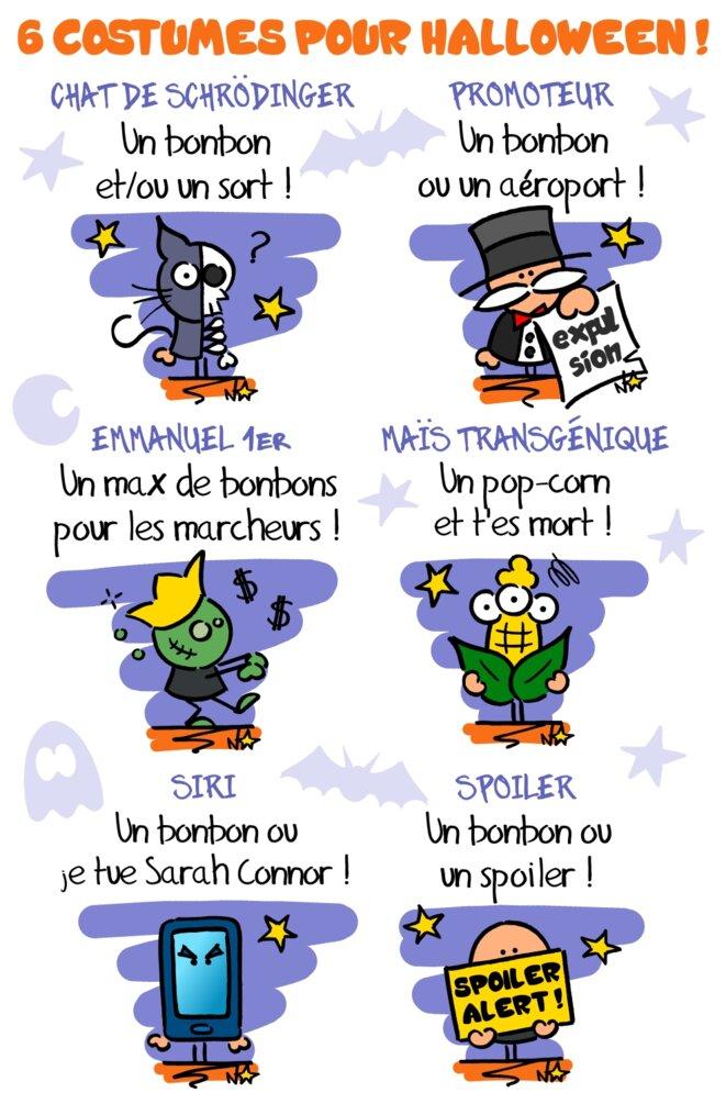 Halloween : les idées costume ! © Norb