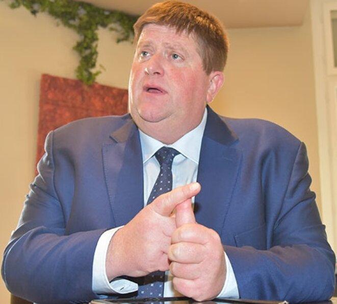 Willy Schraen, président de la FNC