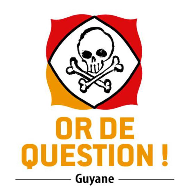 "Logo du collectif d'opposition à la mine ""Or de question"" © Collectif ""Or de question"""