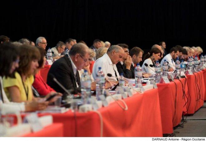 Les orientations budgétaires ont été débattues lors de l'assemblée plénière © Région Occitanie