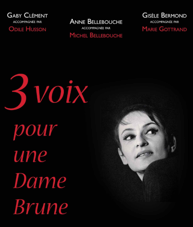 Barbara © affiche du spectacle