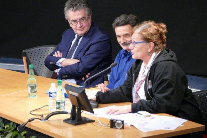 Conférence d'ouverture en compagnie notamment d'Alain Claeys, Président de Grand Poitiers et Maire de Poitiers et d'Edwy Plenel, journaliste, président et cofondateur de Mediapart