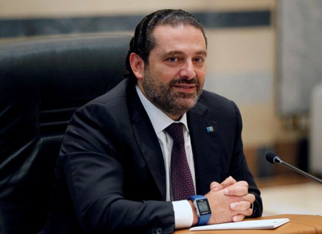 Saad Hariri, le 26 septembre 2017 © Mohamed Azakir / Reuters