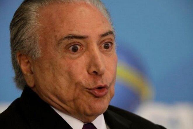 Michel Temer, président par intérim du Brésil © Reuters