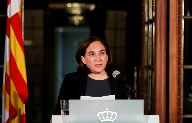 La maire de Barcelone Ada Colau, le 9 octobre 2017. © Reuters / Gonzalo Fuentes