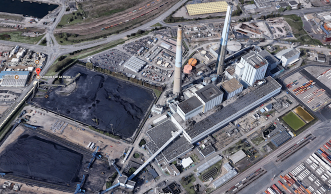 Centrale à charbon du Havre