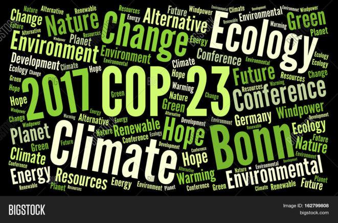 La conférence climat de l'ONU à Bonn-COP23