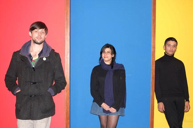 Pablo Greene, Claudia Huaquimilla, Andrew Bargsted © Laura Morsch Kihn