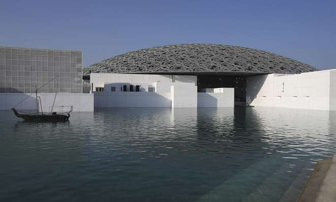 Louvre Abu Dhabi, a decade in the making © Kamran Jebreili - AP