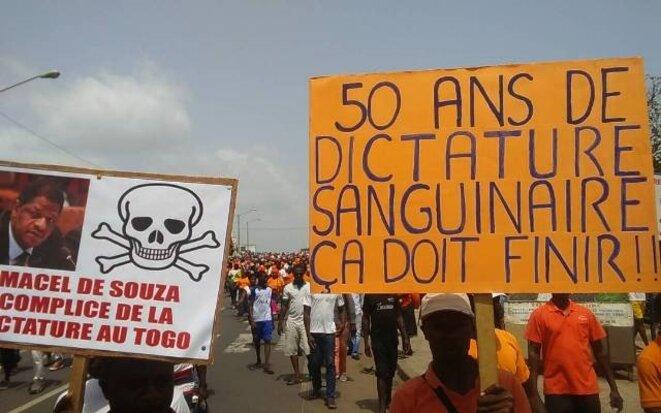 50 ans ça suffit: l'expression légitime du peuple togolais