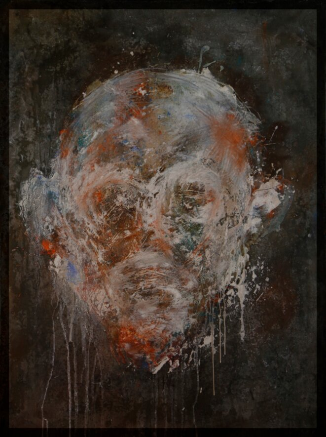 oeuvre du syrien Mahmoud Halabi © Medhat Soogy