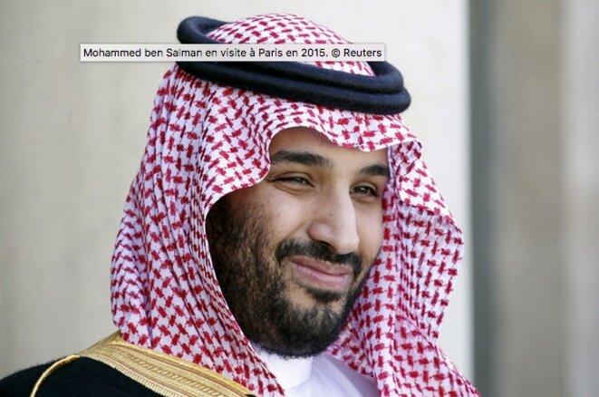 Le prince héritier saoudien  Mohammed ben Salman © Reuters