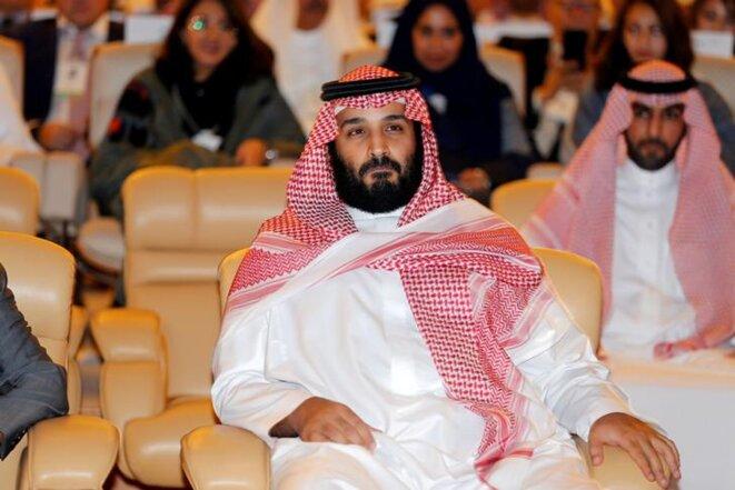 Le prince héritier Mohammed ben Salman, à Riyad, le 24 octobre 2017 © Reuters