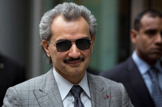 Al-Walid ben Talal à Londres, en juillet 2013 © Reuters