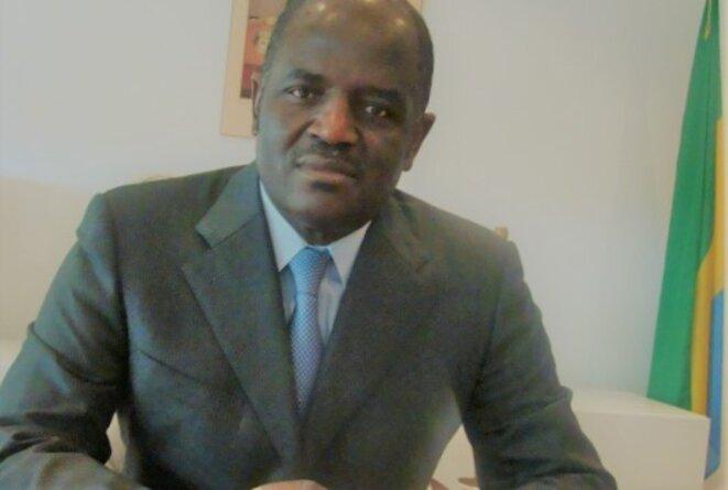 LE MINISTRE GABONAIS DE L'ÉCONOMIE, DE LA PROSPECTIVE ET DE LA PROGRAMMATION DU DEVELOPPEMENT DURABLE, M. REGIS IMMONGAULT