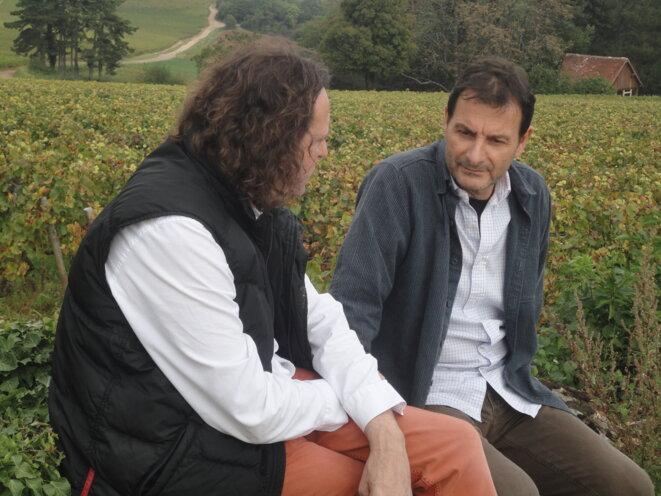 de gauche à droite : Carlos Orta Cimas et Jean-Marc Roulot © DR