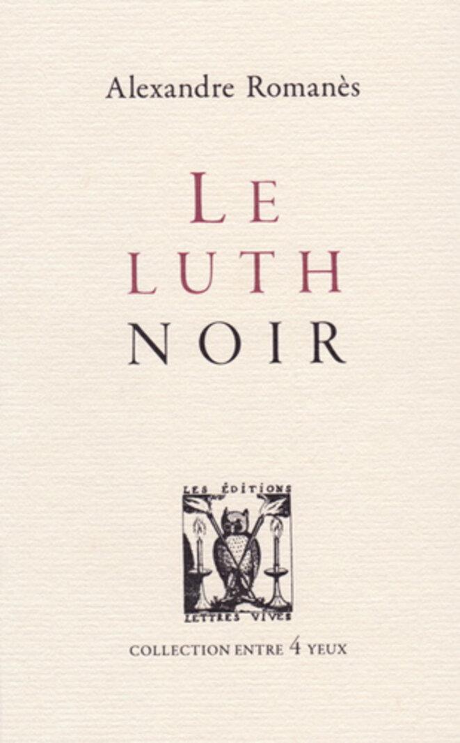 luth-noir