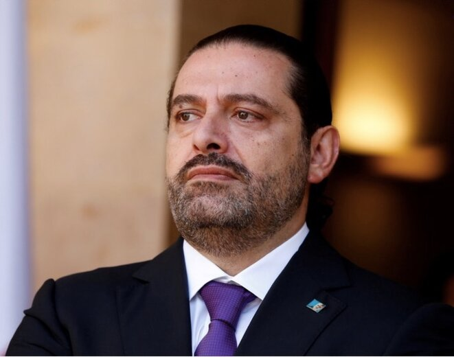 Saad Hariri, le 24 octobre 2017 © Mohamed Azakir / Reuters