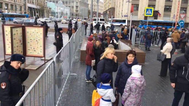 Place du Manège fermée le 5.11.17 © FaceBook