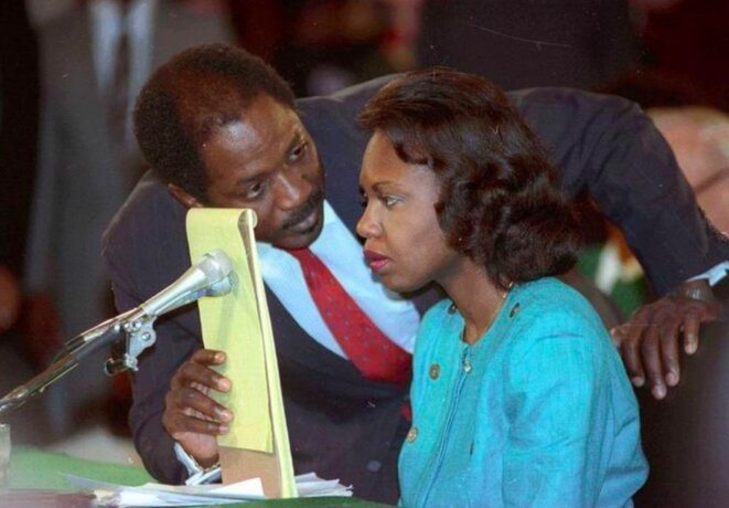 Anita Hill © Reuters