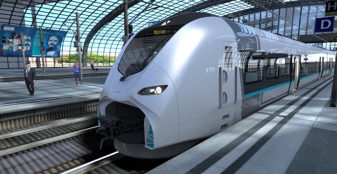 Mireo, le nouveau train régional de Siemens