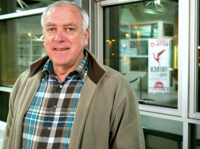 Emmanuel Le Bolzer, âme du mouvement Trégor Debout de la fin des années 1990 à 2007. © D.I.