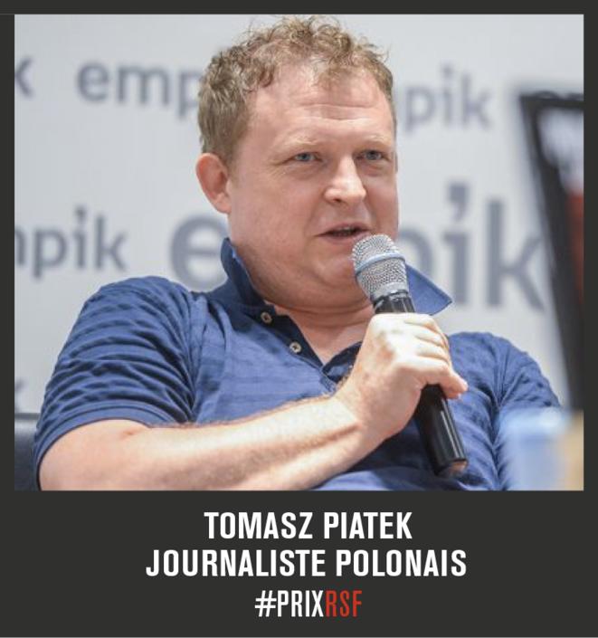 Tomasz Piątek © RSF