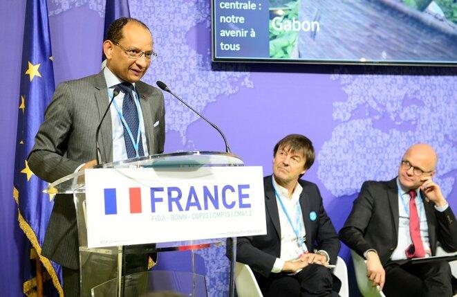 BONN, ALLEMAGNE- -COP 23 - Réunion projet CAFI - Pr. Guy Rossatanga Rignault