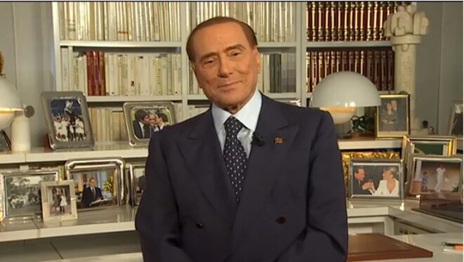 Vídeo de Silvio Berlusconi tras el escrutinio en Sicilia.