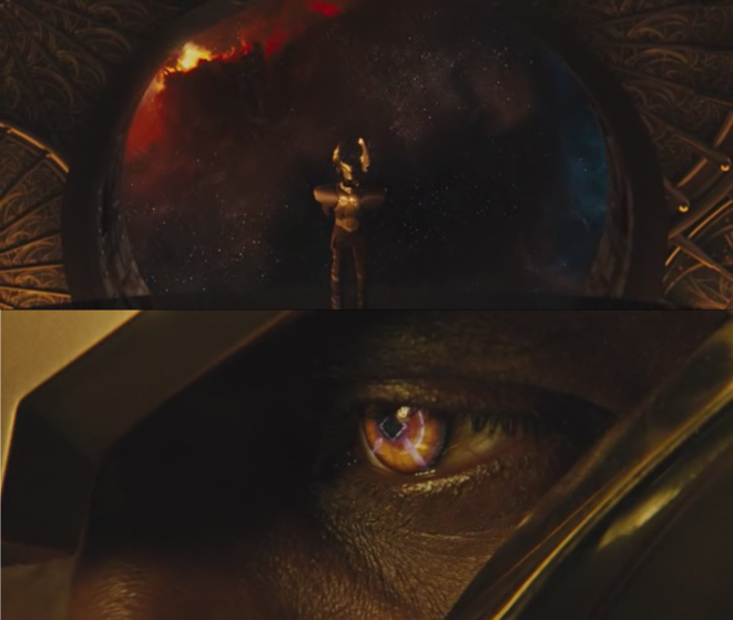 Heimdall, dans Thor, c Studios Marvel, 2011, photogrammes