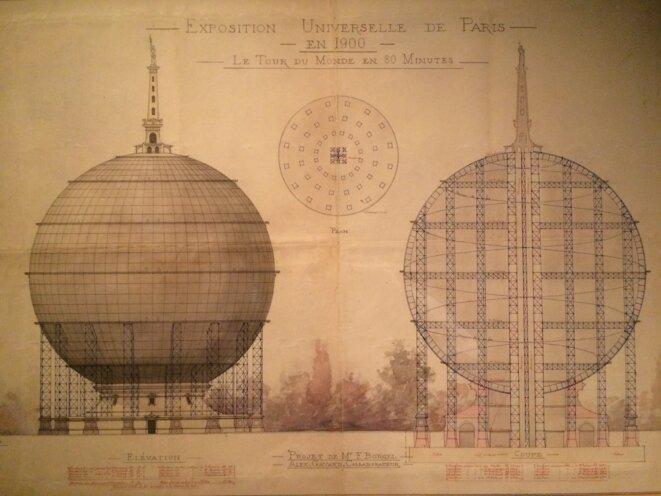 Document présenté à l'exposition Globes