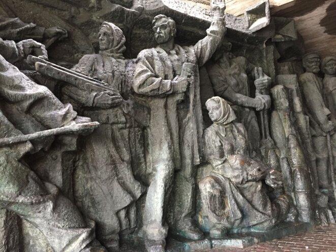 Monument à la Seconde Guerre Mondiale, Kiev. © C.Mann