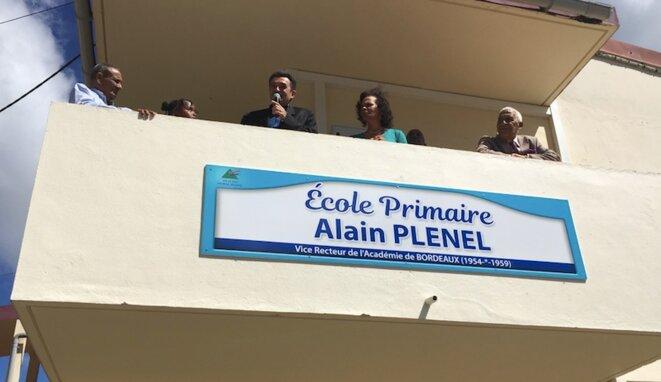 En décembre 2016, au Morne Rouge, en Martinique
