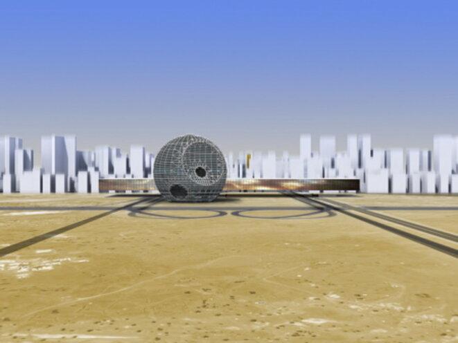 OMA, projet pour les Emirats Arabes Unis