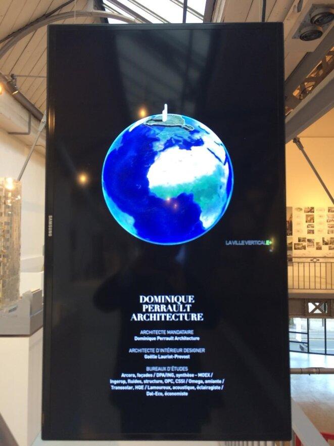 Dominique Perrault, diapositive sur le projet de rénovation de la tour Montparnasse, 2017, c DPerrault
