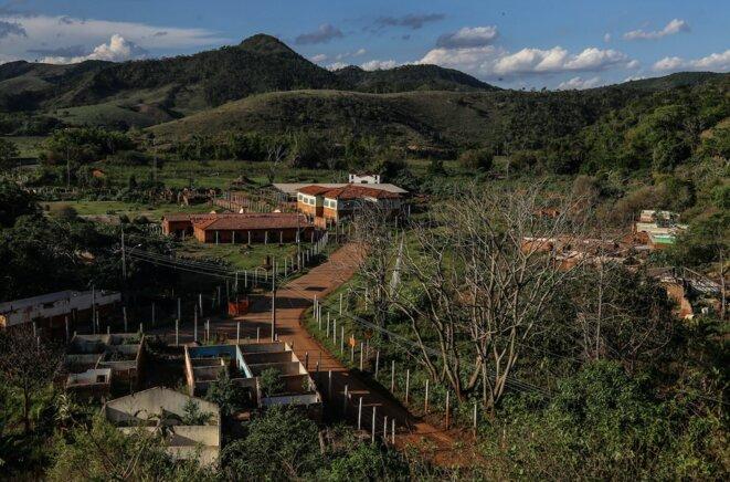 Ruines du hameau de Paracatu. © J-M.A