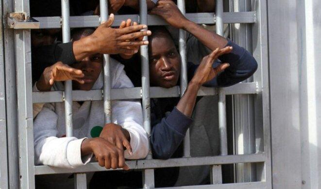 Vente d'esclaves en Libye © Thierry Paul valette