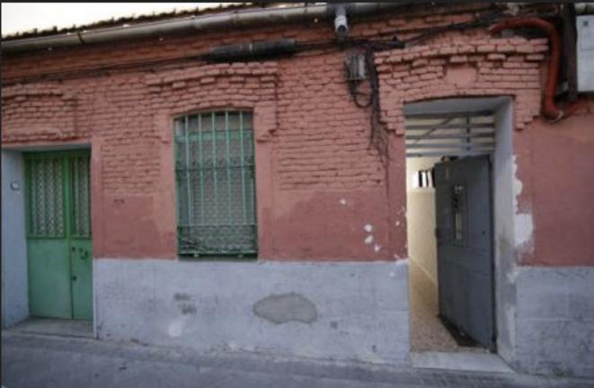 État actuel de l'édifice de Vallecas / #SalvaPeironcely10
