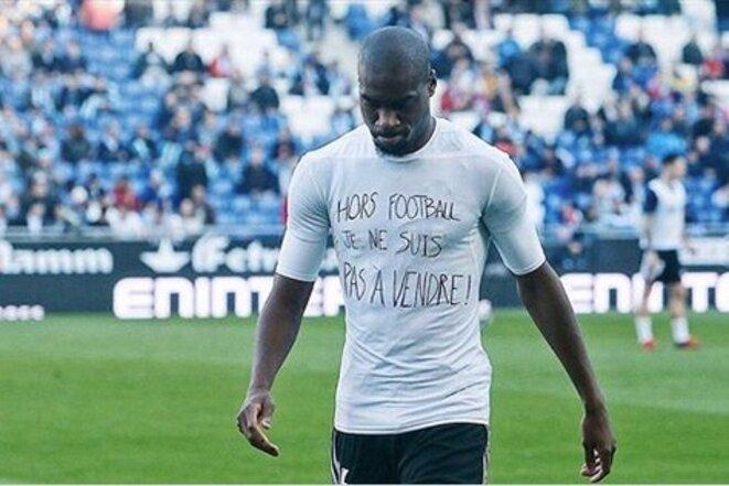 Geoffrey Kondogbia, footballeur international français, novembre 2017.