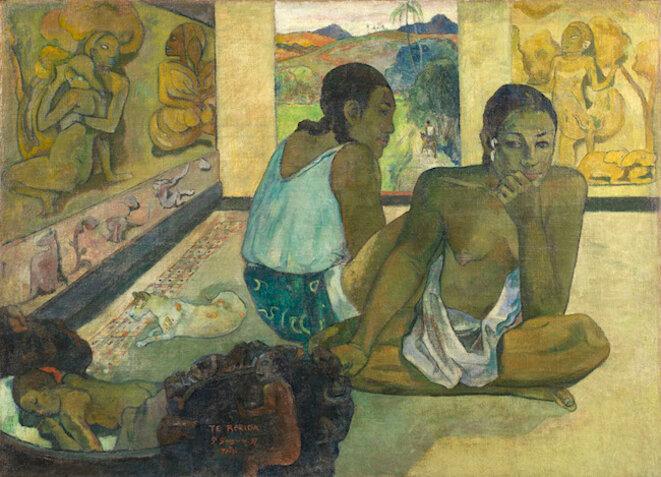 Paul Gauguin, Te Rerioa (Le rêve) (1897) © The Samuel Courtauld Trust, The Courtauld Gallery, Londres