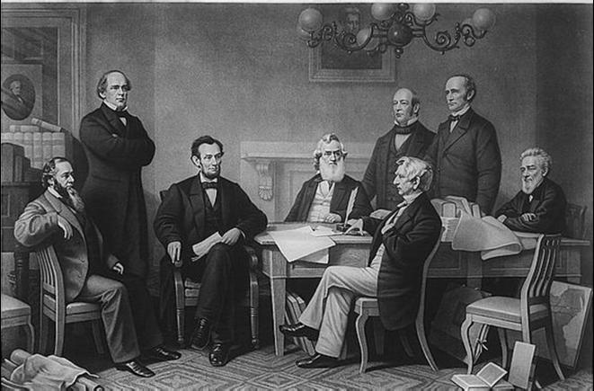 La déclaration d'émancipation, le 22 Septembre 1862.