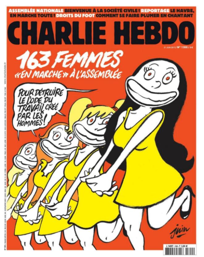 loi-travail-macron-charlie-hebdo-une-caricature-21-juin-2017-femmes