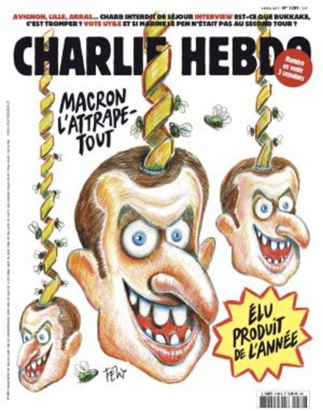 Macron,  lrem en images  ..... Macron-attrape-tout-charlie