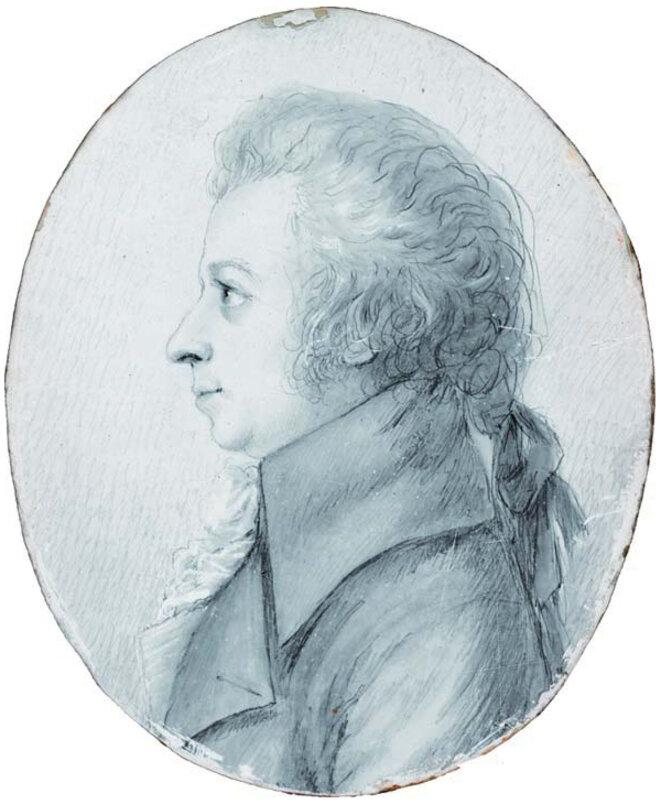 Mozart par Doris Stock en 1789