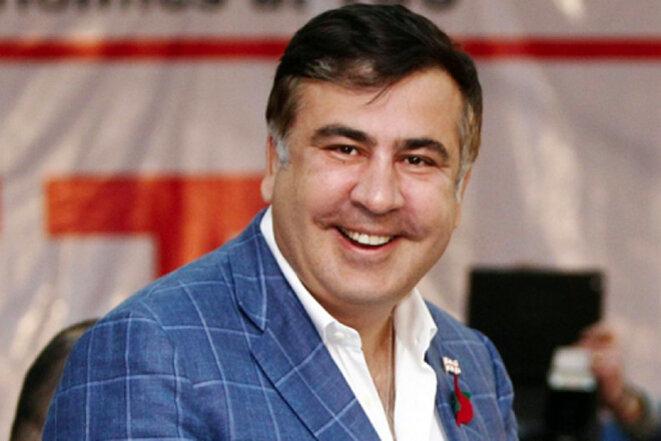 Mikheil Saakashvili © Prise d'écran