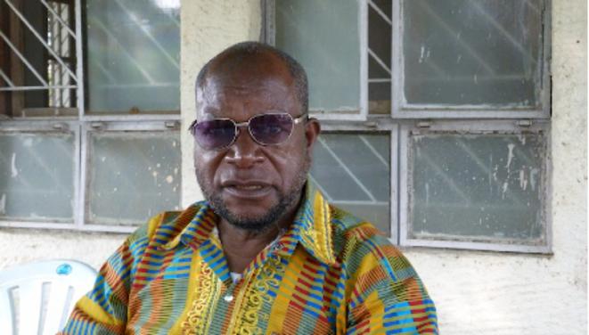 Joseph Mbelolo Ya Mpiku à Wardha © Benjamin Joyeux