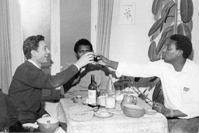 Gilbert et Stokely Carmichael, 1969.